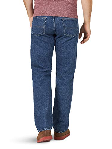 Wrangler Authentics Men's Classic 5-Pocket Relaxed Fit Cotton Jean, Stonewash, 38W X 29L