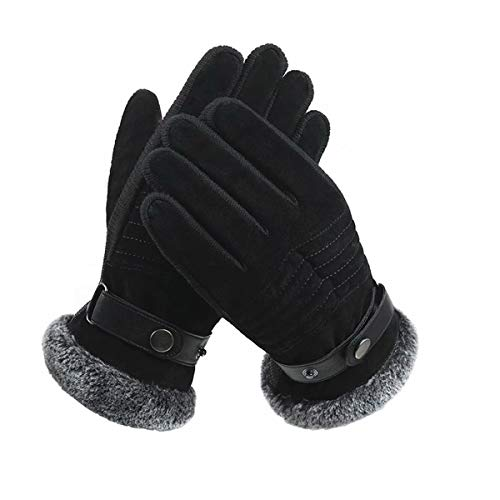 ZN-Home-Gloves Hommes Hiver Gants Thermiques Écran Tactile Gant Résistant Au Vent Garder au Chaud pour La Conduite À Vélo Courir Anti-Slip Léger Gants D'écran Tactile
