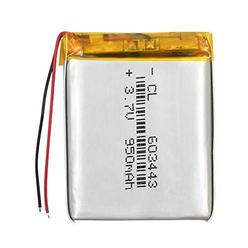 Batería de Iones de Litio Recargable Li-Po de polímero de Litio de 3,7 V 950 mAh para MP3 MP4 GPS Banco de energía Pieza electrónica de DVD 4Pcs