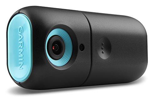 Garmin babyCam -Cámara de vigilancia de bebés (2.4 GHz, VGA, 30 fps, Vision Nocturna), Negro y Azul