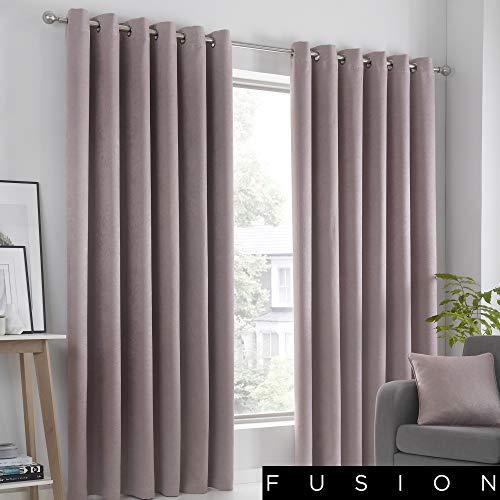 Fusion Home Furnishings Strata-Blockout Paar Eyelet Gordijnen
