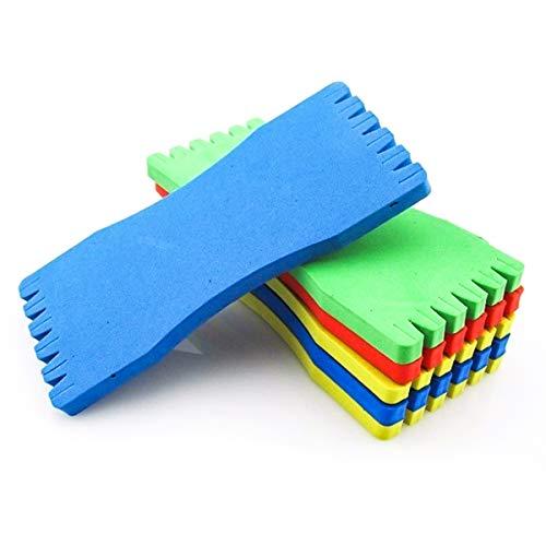 Rehomy Fishing Line Plate Foam Sponge Vissen Winding Line Board Vissen Accessoires 10 Stks/partij
