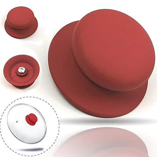 Kerafactum® deksel knop handvat vervanging handvat voor pan deksel universele greep kunststof greep Ø 7 cm pan deksel greep deksel