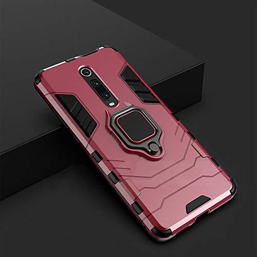 WGOUT Funda a Prueba de Golpes KEYSION para Redmi 9 K20 Pro Note 9S 9 Pro MAX 7 7a 6 8 Pro Funda de teléfono para Xiaomi Mi 9T 9SE CC9e Mi 8 Lite A2 A3, Rojo, para Xiaomi A2
