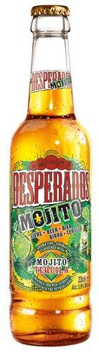 Desperados Mojito, Bier mit Tequila-Flavour (24 x 0,33l) inkl. 1,92 Euro Pfand MEHRWEG