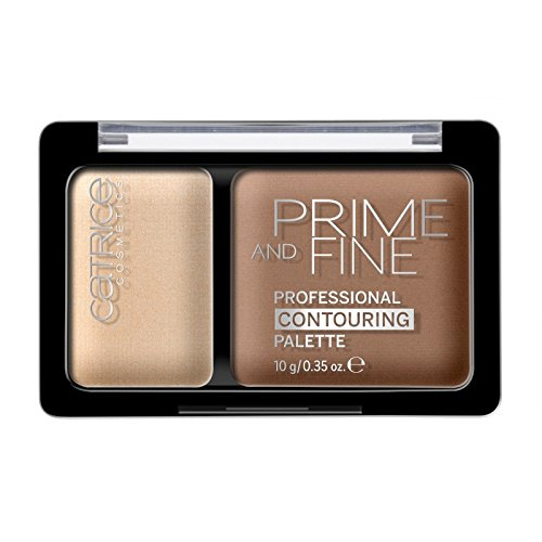 Catrice - Make Up Palette - Prime And Fine Professional Contouring Palette 020 - Warm Harmony