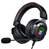 ONIKUMA Gaming Headset for PS4, PC, Xbox One Controller, Noise Cancelling Over Ear