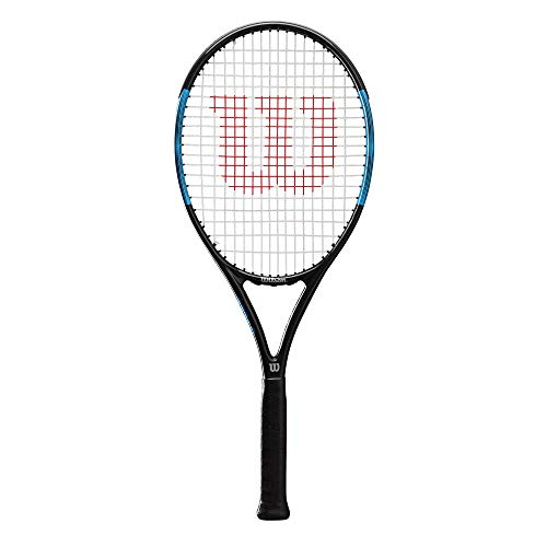 Wilson Unisex-Adult Ultra Power PRO 105 Tennis Racket Black/Blue Grip 3