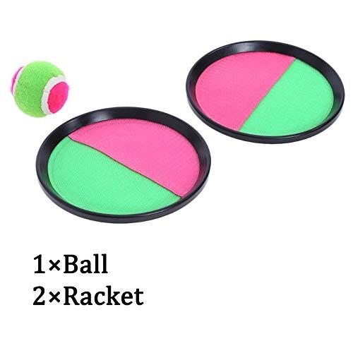 Sfappl a 1 Set Van Kinderspeelgoed Kleverige Bal Sucker Balspelen En Buiten Spelen En Capture Buitenspeelgoed Ouder-kind Interactie dsaf (Cor : 2racket 1ball)