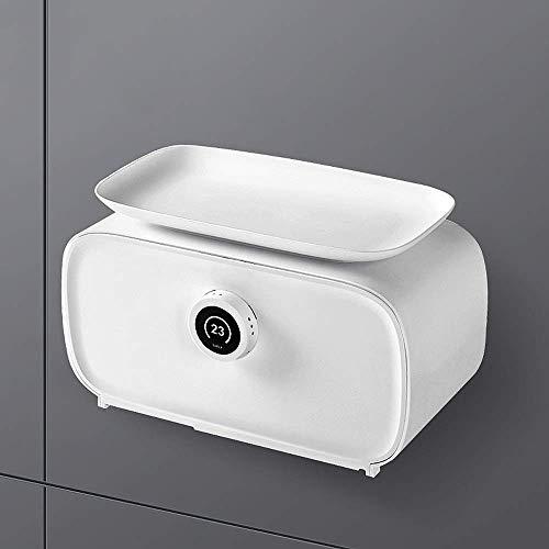 Tenedor de papel de papel higiénico a prueba de agua, soporte de cubierta de pañuelo facial de montaje en pared, soporte para papel higiénico de baño multifunción, soporte de papel de rollo Dispensado