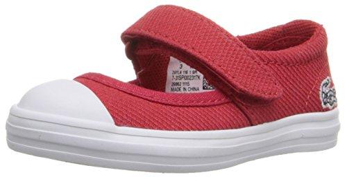 Lacoste Baby Girls Zayla 116 1-K, Red/White, 10 Infant
