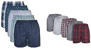 Men's Woven Boxer Underwear Multipack