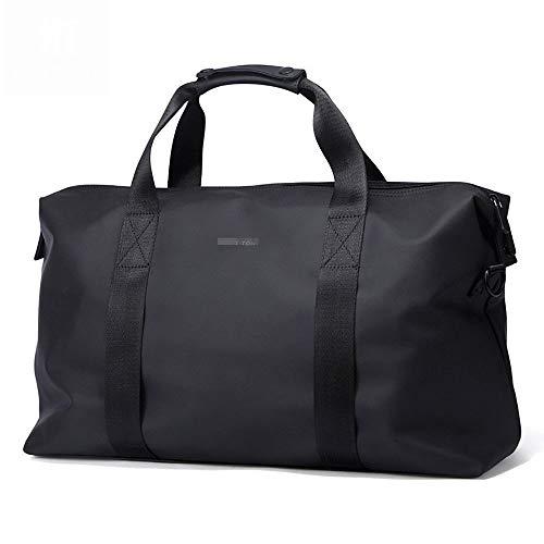 Ofgcfbvxd Molletons de Sport Carry Main Sac Fitness Oxford imperméable Tissu Fitness Randonnée Sac de Transport Sac à Main Fitness Sacs de Sport Grand Format (Color : Black, Size : One Size)