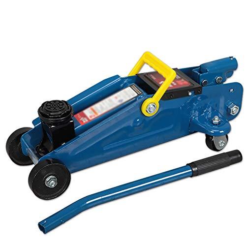 Car Repair Jacks Horizontal Domestic Hydraulic Jack 2t Tire Change Tool For Hydraulic Jack For Car Repair fot Long Trips (Color : Blue, Size : 43x20x13.5CM)