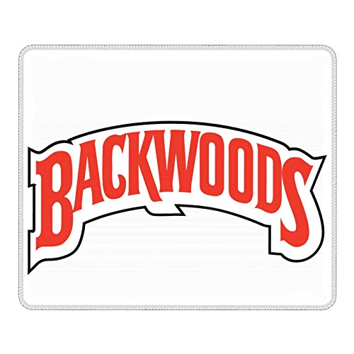 Backwoods Mouse Pad Gaming Mouse Pad Non-Slip Rubber Base with Stitched Edge Computer Mat for Home Office,School