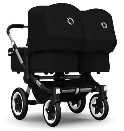 Why Choose Bugaboo 2015 Donkey Twin Stroller Complete Set in Aluminum and Black by Bugaboo Strollers