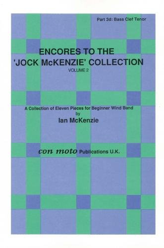 Encores to Jock McKenzie Collection Volume 2, wind band, part 3d, Bass Clef