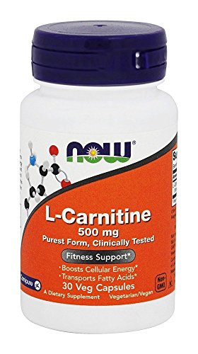 Now Foods L Carnitine 500 mg 30 Capsules 1 Units