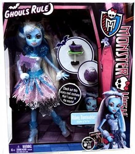 Monster High Ghouls Rule Doll, Abbey Abominable by Mattel