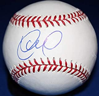 Yunel Escobar OMLB Autographed Signed Baseball - Certified Authentic