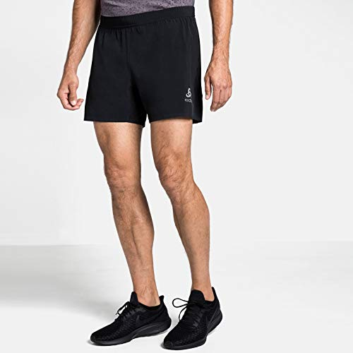 Odlo Herren Shorts Zeroweight Pro, Black, L, 322082
