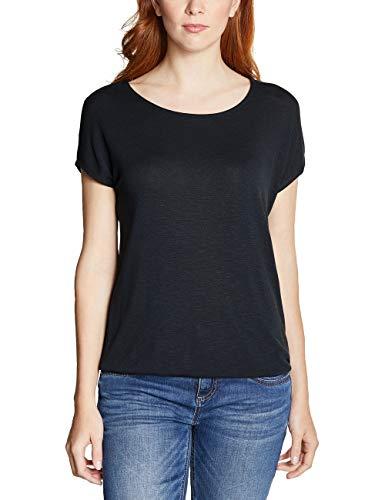 Street One Damen Vianna T-Shirt, Grau (Neo Grey 11017), 44