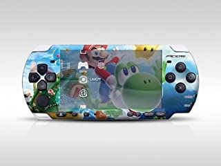 Super Mario Decorative Protector Skin Decal Sticker for PSP-3000