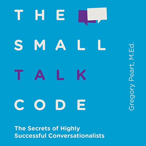 The Small Talk Code audiobook cover art