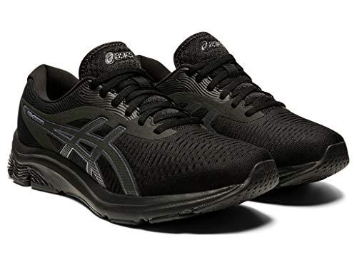 ASICS Men's Gel-Pulse 12 Running Shoes, 10M, Black/Black