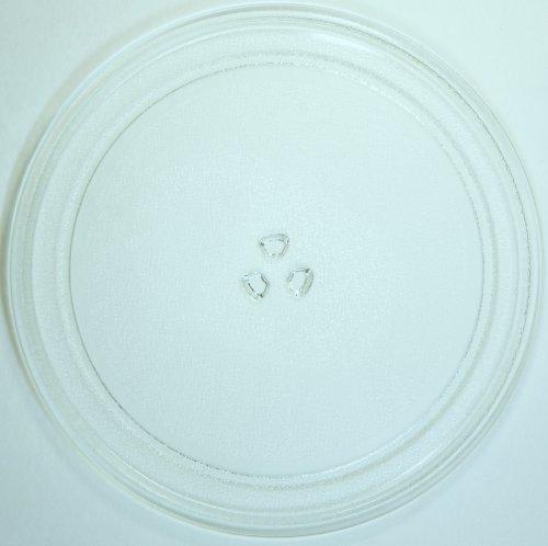 Mikrowellenteller / Drehteller / Glasteller für Mikrowelle # ersetzt AFK Mikrowellenteller # Durchmesser Ø 32,5 cm / 325 mm # Ersatzteller # Ersatzteil für die Mikrowelle # Ersatz-Drehteller # OHNE Drehring # OHNE Drehkreuz # OHNE Mitnehmer