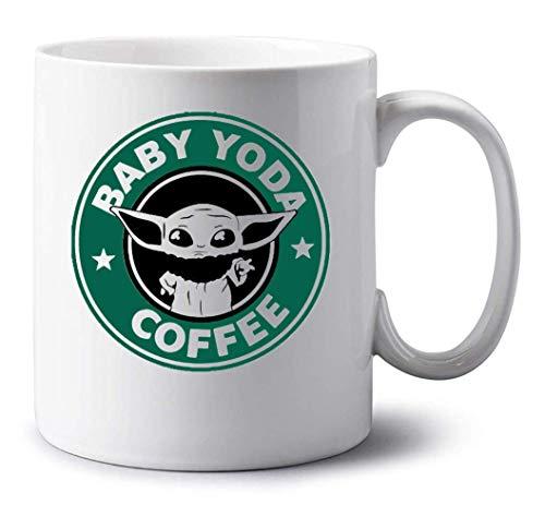 Sartamke Baby Yoda Coffee Amazing Weiße Tasse