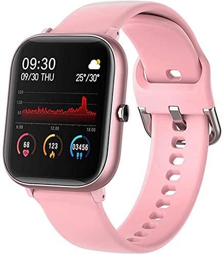 Smart Watch Para Hombres Modo Impermeable A Prueba De Deportes De Pantalla Táctil De 1.4 Pulgadas De 1.4 Pulgadas Con Monitor De Ritmo Cardíaco Para Las Señoras Smart Watch Para Ios Android P8, C