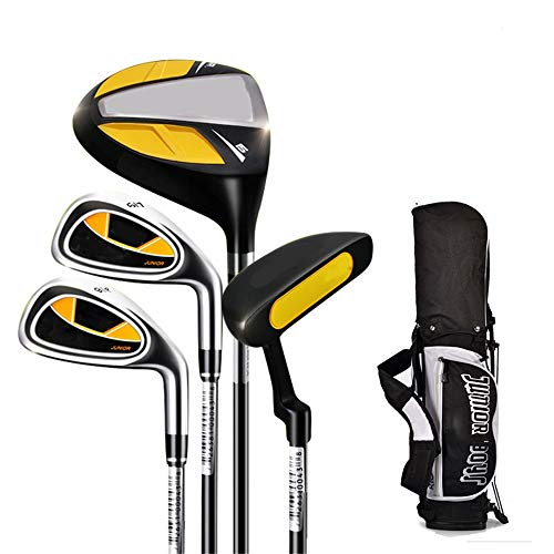 HXiaDyG Chipper kindergolfputter voor binnen en buiten, rubberen greep, golfclub, 3-12 jongens en meisjes, golfclubs