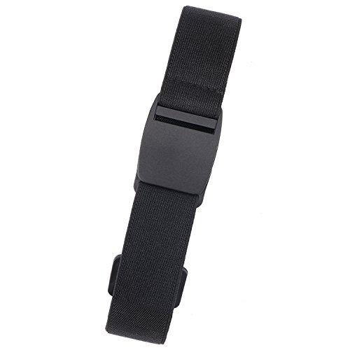 Adjustable Invisible Belt for Men Elastic Belt No Bulge Plastic Buckle Belt by XZQTIVE