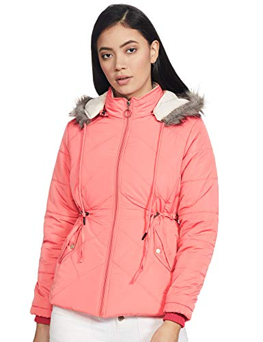 Qube By Fort Collins Women's Jacket (39339Q_Punch Pink_Medium)
