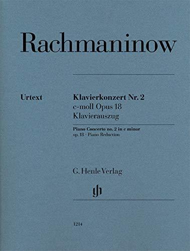Klavierkonzert Nr. 2 c-moll op. 18; Klavierauszug: Instrumentation: 2 Pianos, 4-hands, Piano Concertos