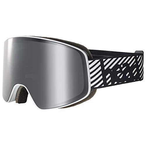 HEAD Ski- / Snowboardbrille Horizon, Unisex, 391409, Schwarz, Einheitsgröße