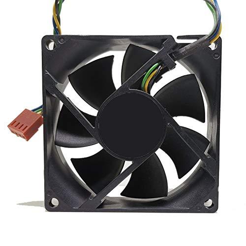 JPVGIA For AVC DL08025R12U 8025 de 80 mm X 80 mm X 25 mm cojinete hidráulico PWM refrigerador Ventilador de refrigeración 12V 0.50a 4WIRE 4 Pines del Conector