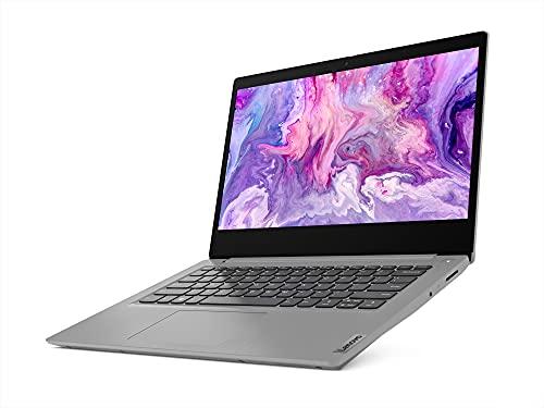 Lenovo IdeaPad Slim 3 10th Gen Intel Core i3 14 FHD Thin & Light Laptop (8GB/256GB SSD/Windows 10/MS Office/Intel UHD Graphics/Platinum Grey/1.5Kg), 81WA00K4IN