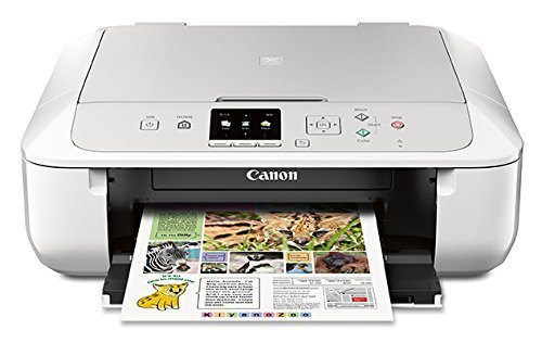 Canon MG5720 Wireless All-In-One Printer with Scanner and Copier: Mobile and Tablet Printing with Airprintcompatible, White