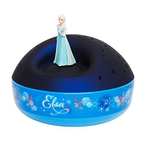 Trousselier 65404 Star Frozen Projektor mit Musik Elsa, blau
