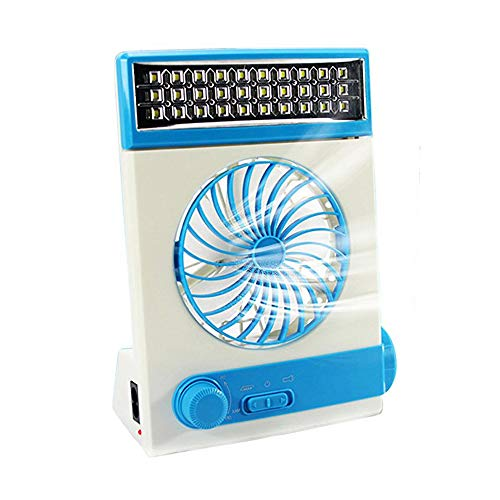 solar power personal fan - 1