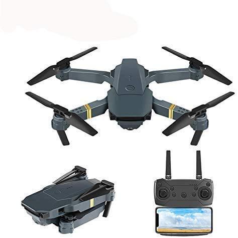 E58 Faltbare Drohne mit HD-Kamera, RC Quadcopter mit mehreren Funktionen und Höhenlage, RC-Drohne ferngesteuertes Flugzeug Live WiFi Flying Aerial Photography