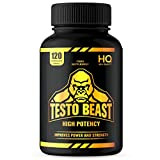 Test Booster for Men | 120 Capsules | High Quality | Magnesuim, Zinc