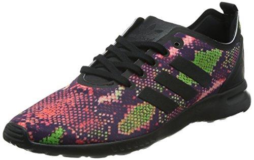 adidas ZX Flux ADV Smooth, Scarpe da Ginnastica Basse Donna, Nero (Core Black/Core Black/Ftwr White), 38 EU