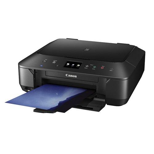 Canon Pixma MG6650 Farbtintenstrahl-Multifunktionsgerät (Drucker, Kopierer, Scanner, USB, WLAN, NFC, Pixma Cloud-Link) schwarz