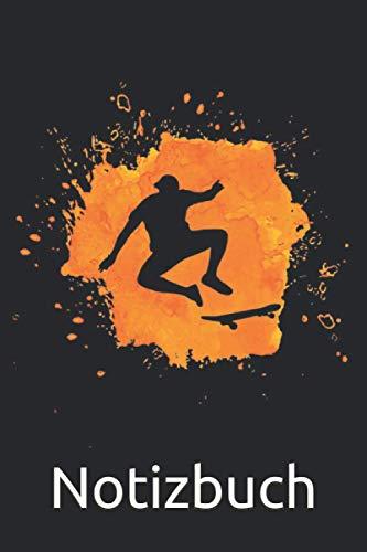 Skater Graffiti Notizbuch: Skateboard Notizbuch für Skateboarder - 120 linierte Seiten für Termine, Notizen, als Tagebuch | ca. DINA5 | Geschenk Idee für Skater & Skate und Longboard Fans.