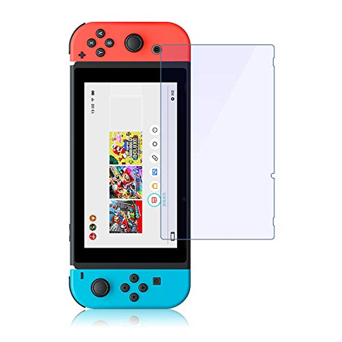 Panzerglas für Nintendo Switch Schutzfolie Anti-Blaulicht Nintendo Switch Displayschutzfolie,Panzerglasfolie Anti-Kratzen,Panzerglas Folie mit Blendschutz für Nintendo Switch