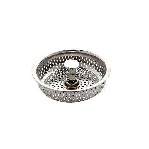 Siebkörbchen, Finoki Universal Küchenspüle Sieb Abflusssieb Spülenabdeckung Küchenspüle Stopper aus Edelstahl | Ø80mm