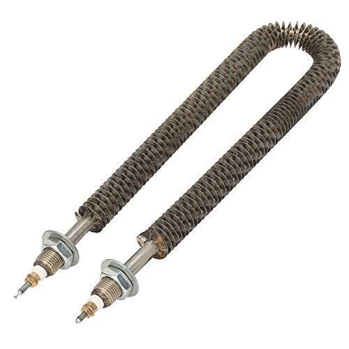 Cerlingwee Tubo de Calor eléctrico con Aletas, Tubo de Calor en Forma de U de 11,4 Pulgadas antienvejecimiento, para hornos de conservación de Calor, Equipos de Aire Acondicionado para Hornear